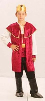 Boys King Costume
